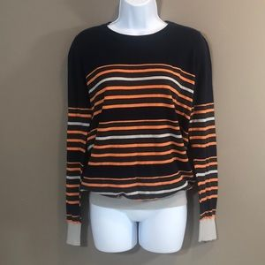 🛑SOLD🛑41 Hawthorn Striped Pullover Sweater